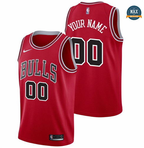 Max Maillots Custom, Chicago Bulls - Icon
