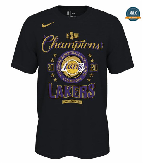 Max Maillots Camiseta Los Angeles Lakers - 2020 NBA Champions