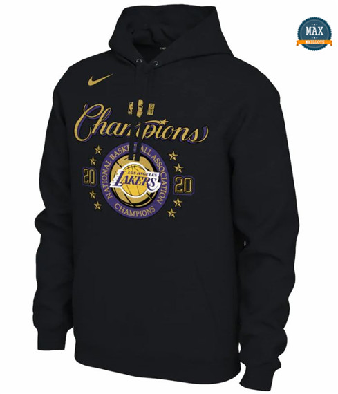 Max Maillots Sudadera Los Angeles Lakers 2020 NBA Champions