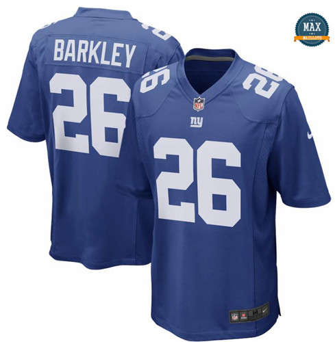 Max Maillots Saquon Barkley, New York Giants - Royal Blue