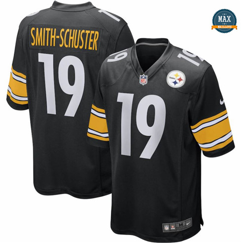 Max Maillots JuJu Smith-Schuster, Pittsburgh Steelers - Black