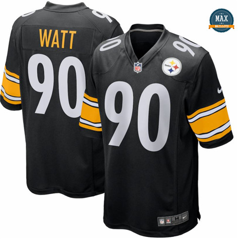 Max Maillots T.J. Watt, Pittsburgh Steelers - Black