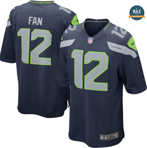Max Maillots Fan, Seattle Seahawks - Navy