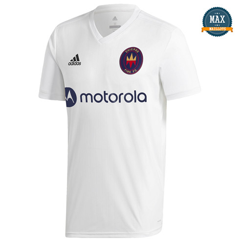 Max Maillot Chicago Fire Exterieur 2020/21 Blanc