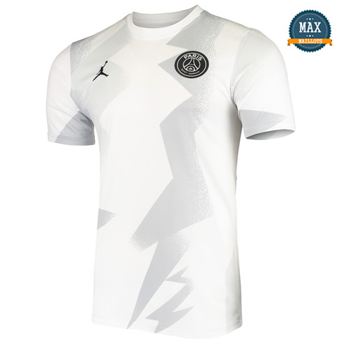Max Maillot PSG Pre-Match 2020/21 Blanc