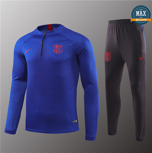 Max Survetement Barcelone 2019/20 Bleu