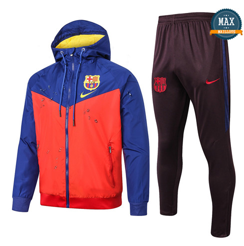 Max Coupe vent Barcelone 2019/20 Rouge/Bleu