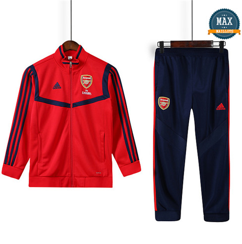 Max Veste Survetement Enfant Arsenal 2019/20 Rouge