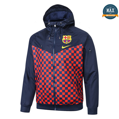 Max Coupe vent Barcelone 2019/20 Bleu Marine/Rouge Rayon