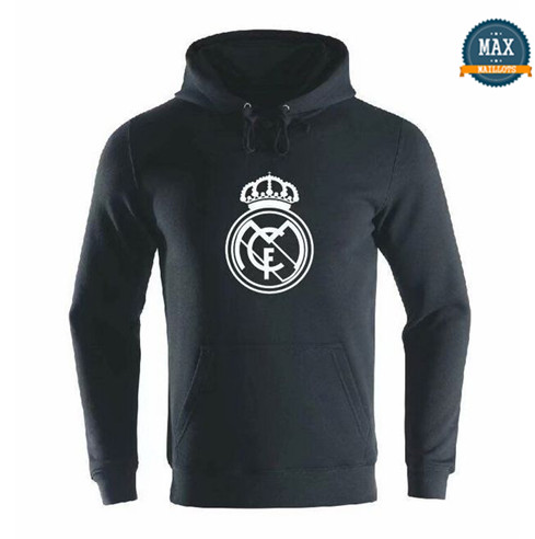 Max Sweat à capuche Real Madrid 2019/20 Noir