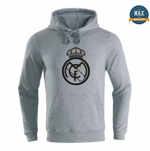 Max Sweat à capuche Real Madrid 2019/20 Gris