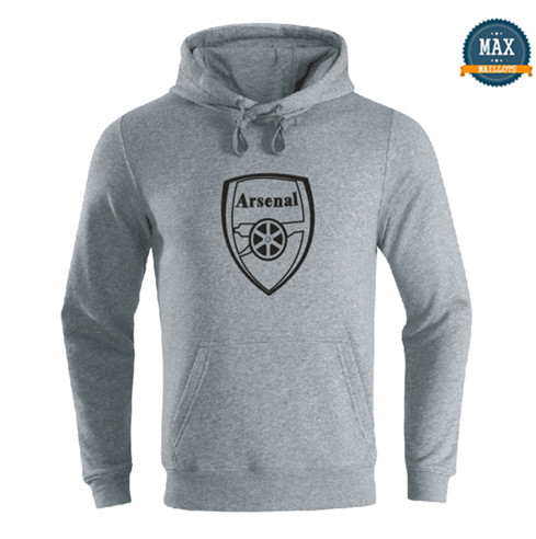Max Sweat à capuche Arsenal 2019/20 Gris