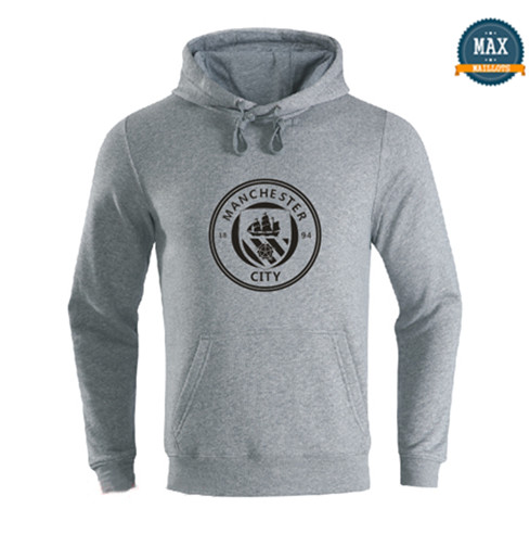 Max Sweat à capuche Manchester City 2019/20 Gris