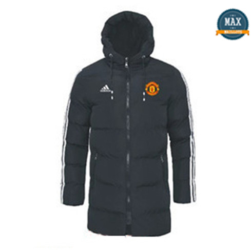 Max padded coat Manchester United 2019/20 Noir