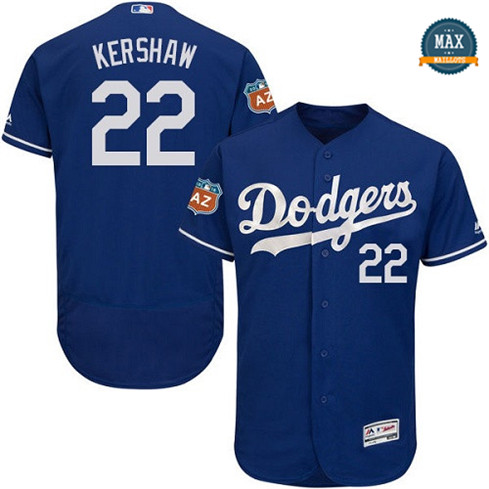 Max Clayton Kershaw, Los Angeles Dodgers - Bleu