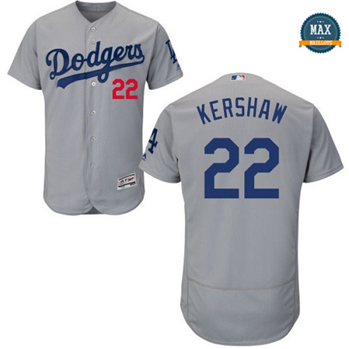 Max Clayton Kershaw, Los Angeles Dodgers - Gris