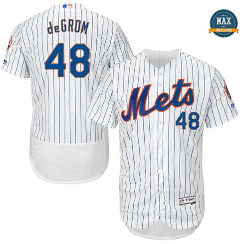Max Jacob deGrom, New York Mets - Blanc