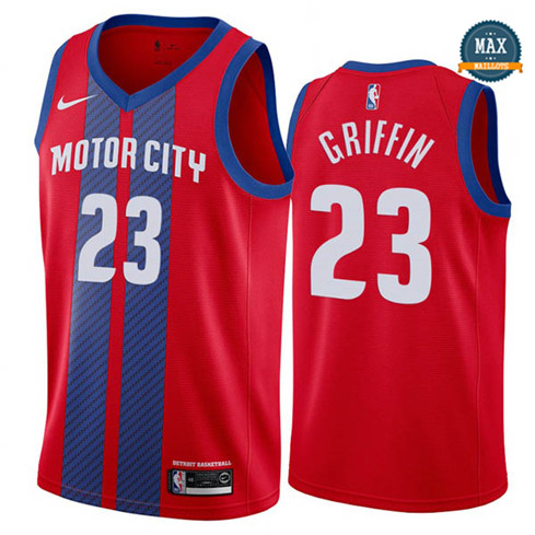 Max Blake Griffin, Detroit Pistons 2019/20 - City Edition