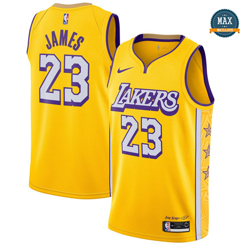 Max LeBron James, Los Angeles Lakers 2019/20 - City Edition