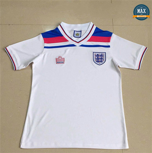Max Maillots Rétro Angleterre 1980 Domicile