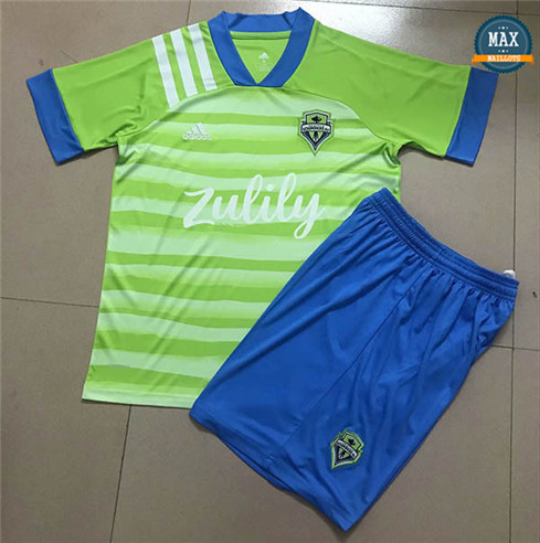 Max Maillot Seattle Sounders Domicile 2020/21 Enfant