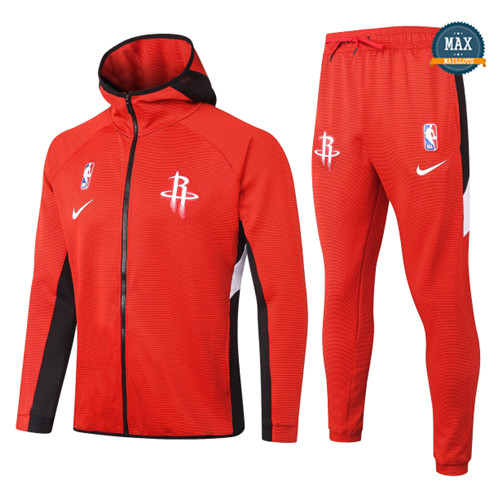 Max Maillots Chándal Houston Rockets - Rouge fiable