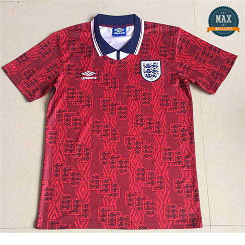 Max Maillots Rétro 1994 Angleterre Exterieur