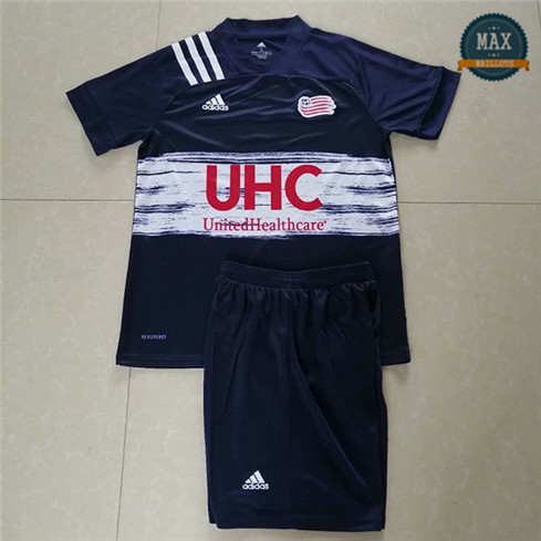 Max Maillots New Angleterre Revolution Domicile 2020 Enfant
