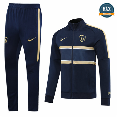 Max Veste Survetement Pumas 2020 Bleu
