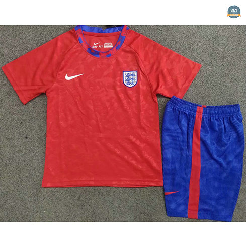 Max Maillots Angleterre Enfant Rouge 2020