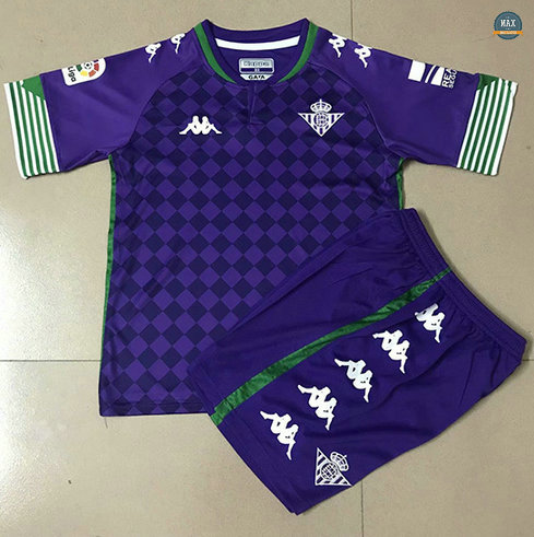 Max Maillot Real Betis Enfant Exterieur 2020