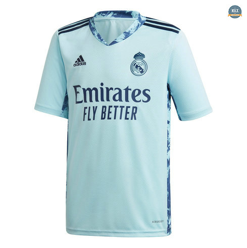 Max Maillot Real Madrid Gardien de But Bleu 2020