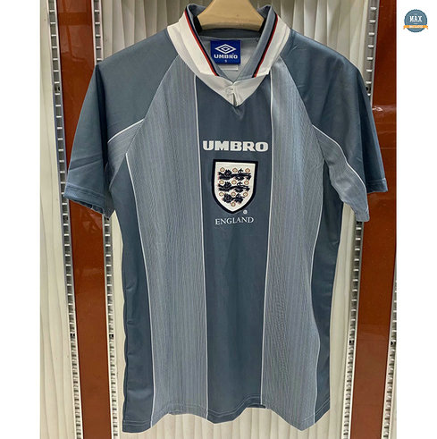 Max Maillot Retro 1996 Angleterre Exterieur