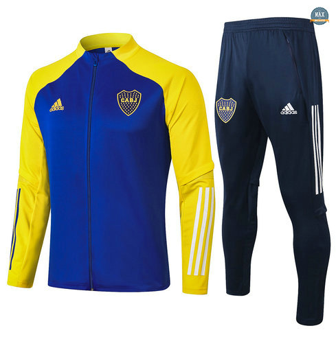 MaxVeste Survetement Boca Juniors 2020 Bleu/Jaune