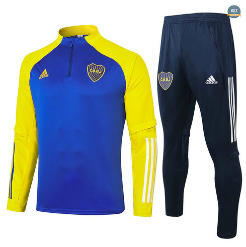 MaxSurvetement Boca Juniors 2020 Bleu Marine/Jaune