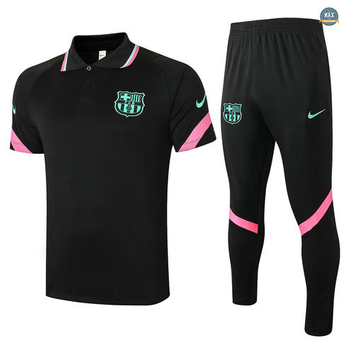 MaxBarcelone POLO + Pantalon 2020/21 Training Noir