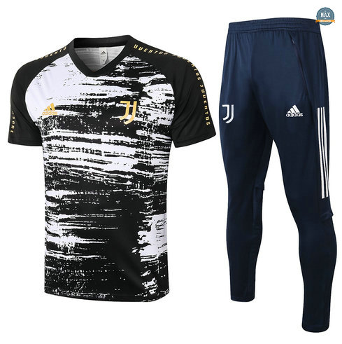 MaxJuventus + Pantalon 2020/21 Training Noir