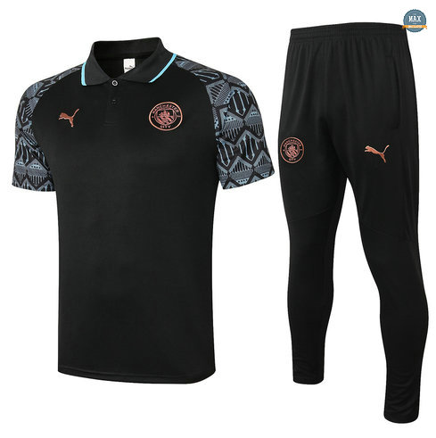 MaxManchester City POLO + Pantalon 2020/21 Training Noir