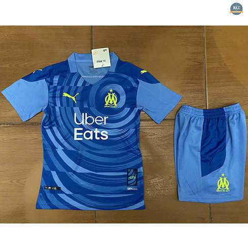 Max Maillots Marseille Enfant Third 2020/21