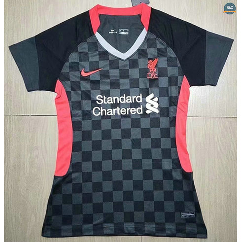 Max Maillots Liverpool Femme Noir 2020/21
