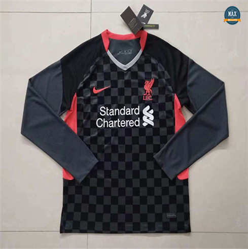 Max Maillot Liverpool Third Manche Longue 2020/21