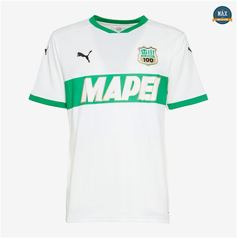 Max Maillot Sassuolo Exterieur Blanc 2020/21