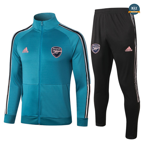 Max Veste Survetement Arsenal 2020/21 Bleu Marine