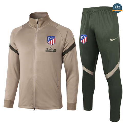 Max Veste Survetement Atletico Madrid 2020/21 Kaki