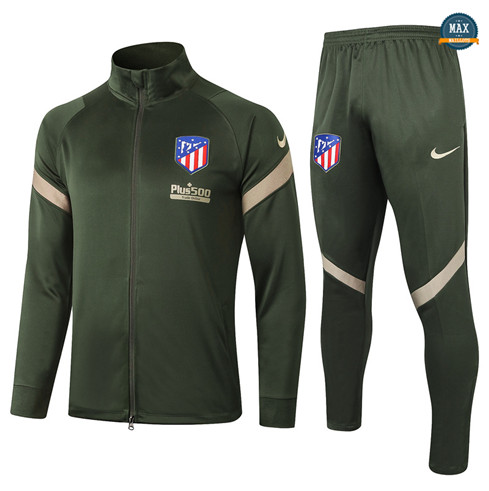 Max Veste Survetement Atletico Madrid 2020/21 Armee Verte