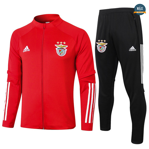 Max Veste Survetement Benfica 2020/21 Rouge