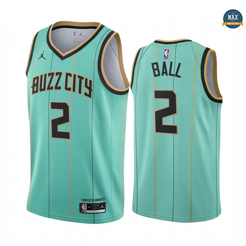 Max Maillot Lamelo Ball, Charlotte Hornets 2020/21 - City Edition