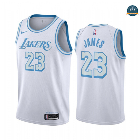 Max Maillot LeBron James, Los Angeles Lakers 2020/21 - City Edition