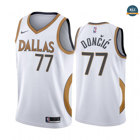 Max Maillot Luka Doncic, Dallas Mavericks 2020/21 - City Edition
