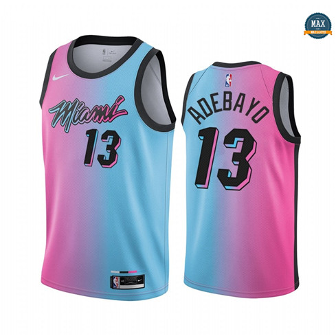 Max Maillot Bam Adebayo, Miami Heat 2020/21 - City Edition
